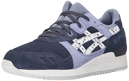 ASICS GEL Lyte III Retro Running Shoe, Indian Ink/White, 9 M US