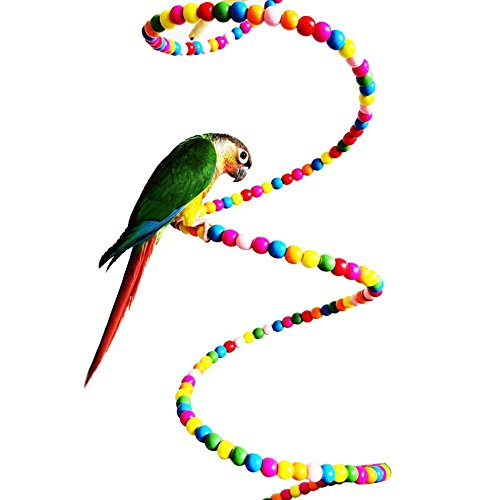 Colourful-Rotate-Ladder-For-Bird-Parrot-Macaw-African-Greys-Cockatoo-Budgies-Parakeet-Cockatiels-Conure-Lovebird-Finch-Toys-Birdcage-Perch-Toy