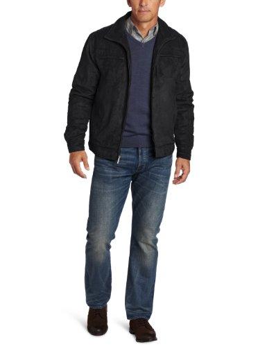 London Fog Oxnard Men's Hipster Jacket - Size (Small) Color (Black) at Sears.com