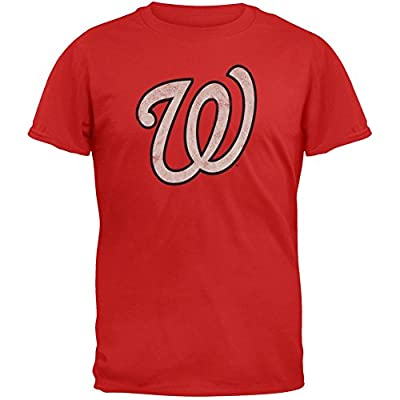 Washington Nationals Classic W Logo T-Shirt by Red Jacket
