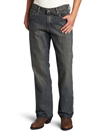 Wrangler Men's Retro Mid Rise Boot Cut Jean, Trail Worn, 29x30