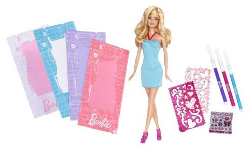 Barbie Fashion Design Studio Kit