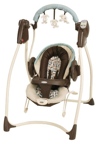 Best Price Graco Duo 2 in 1 Swing with Plug, Carlisle