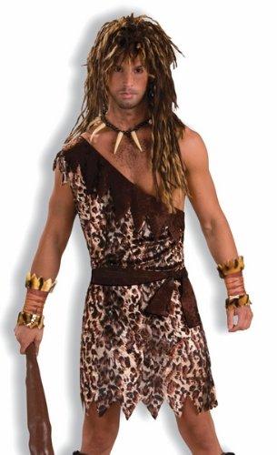 NEW Mens Sexy Adult Jungle Caveman Halloween