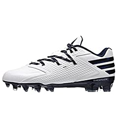 adidas Performance Men\'s freak X Carbon Low Football Shoe, White/Collegiate Navy/Collegiate Navy, 10 M US
