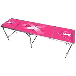 pink beer pong
