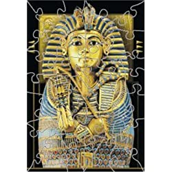 [Best price] Puzzles - King Tut Wooden Jigsaw Puzzle - toys-games