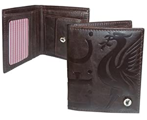 Liverpool Fc Luxury Brown Wallet by Liverpool FC