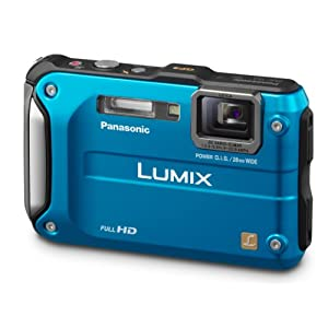 18. Panasonic Lumix DMC-TS3 12.1 MP Rugged/Waterproof Digital Camera with 4.6x Wide Angle Optical Image Stabilized Zoom and 2.7-Inch LCD (Blue) Price: 	$236.13