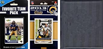 NFL St. Louis Rams Licensed 2013 Score Team Set and Favorite Player Trading Card Pack by C&I Collectables