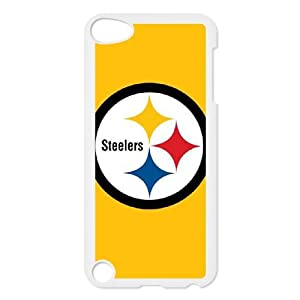 Fggcc the Pittsburgh Steelers Pattern Case for Ipod Touch 5,the Pittsburgh Steelers Ipod Touch 5 Phone Case by Fggcc
