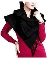 "Novawo® Extra Large 78""x27"" Soft Cashmere Shawl Wrap Scarf for Men Women (8 Colors)"