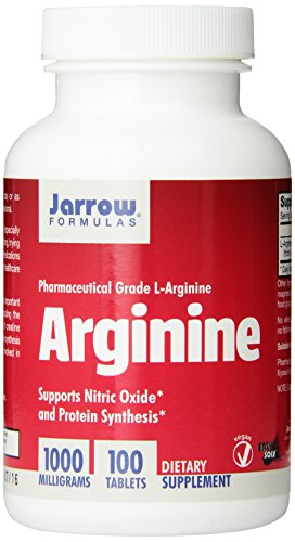 Jarrow Formulas L-Arginine , Supports Cardiovascular Health, 1000 mg