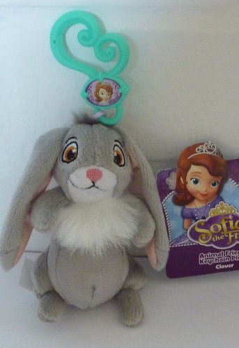 Disney Sofia the First Animal Friends Keychain Plus Clover - 1