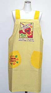 Sesame Street character apron kitchen apron 20333015 (japan import)