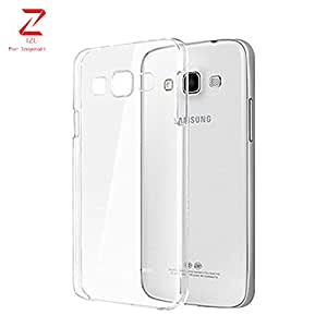 Samsung Galaxy- J2 Case, IZU PRO+ Japanese Technology [Clear Cushion] Premium Clear Case Soft Back Panel + TPU Bumper for Samsung Galaxy- J2 - Shock Absorbing + Scratch Resistant Frame Cover Case - Clear