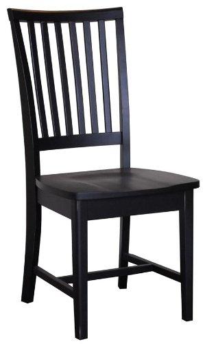 Carolina Classic Hudson Dining Chair, Antique Black