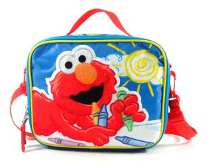 "Lunch Bag - Sesame Street - Elmo - Big Sun 9"" - 1"