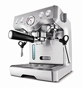 Breville BES820XL Die-Cast 15-Bar Programmable Espresso Machine from Breville