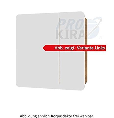PELIPAL Solitaire 7025Comfort Mirror Cabinet/7025SPS 01-L/R/E/70X72X17CM