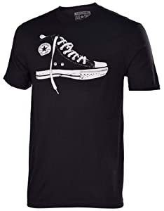 Converse Men's Chuck Taylor All Star Chuck Shoe T-Shirt-Black-2XL
