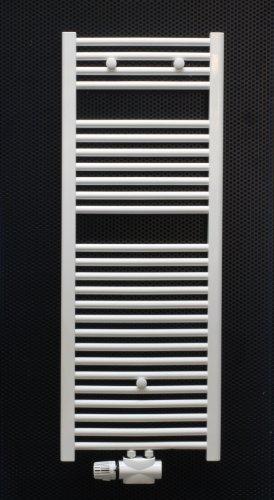 badheizk rper weiss gebogen 1600 x 500 inklusive mittelanschluss heimeier multilux bad. Black Bedroom Furniture Sets. Home Design Ideas
