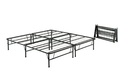 Cheapest Price! Pragma Bed Simple Base Quad-Fold Bed Frame, Queen