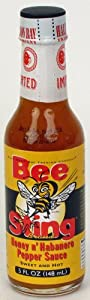 Bee Sting Honey N' Habanero Hot Sauce