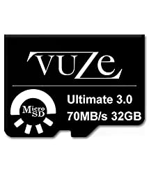Vuze Ultimate3.0 Combo Of 64GB And 32GB Memory Card