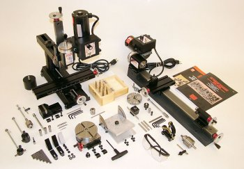 Ultimate-shop-package-inch-w-deluxe-4400-lathe-2000-mill-and-accessories