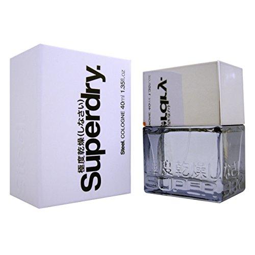 Superdry Steel Eau de Toilette Vaporizzatore - 40 ml