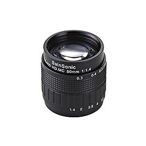 SainSonic 50mm f/1.4 CCTV Cine Lens
