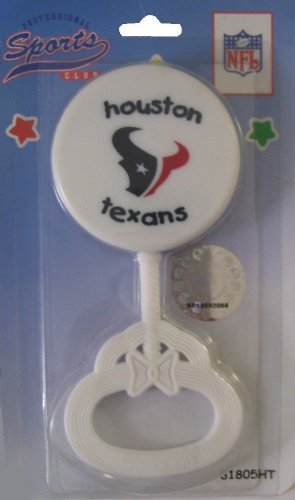 NFL Houston Texans Football Baby Rattle by Haddad jetzt kaufen