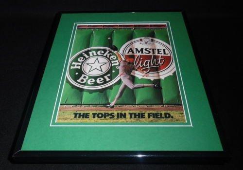 1991-heineken-amstel-beer-11x14-framed-original-vintage-advertisement