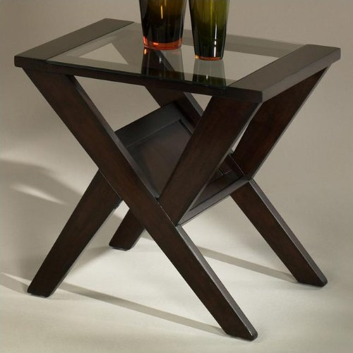 Cheap Hammary Affinity Rectangular End Table (T2006820-00)