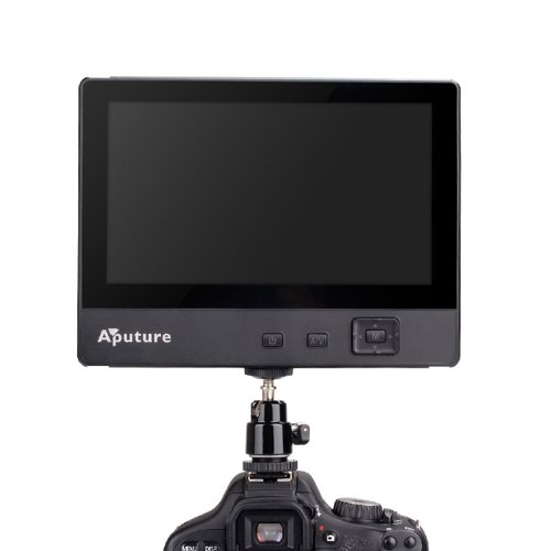 Aputure Imaging Industries Co. Ltd. Vs-1 Aputure V-Screen Vs-1 - 7-Inch Digital Video Lcd Monitor For Dslr With Bonus Sunshade For Canon, Nikon, Sony, Pentax (Black)
