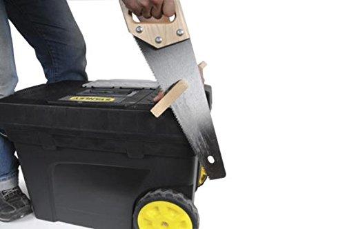 Stanley 1 97 503 vasca porta utensili con ruote ebay - Cassetta porta attrezzi stanley con ruote ...