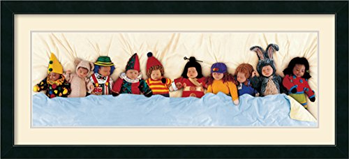 In The Bed By Anne Geddes Framed front-750285