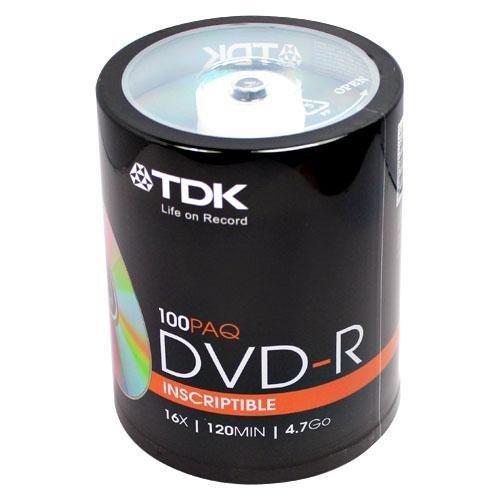 020356485207 - TDK48520 - TDK DVD-R Discs carousel main 1