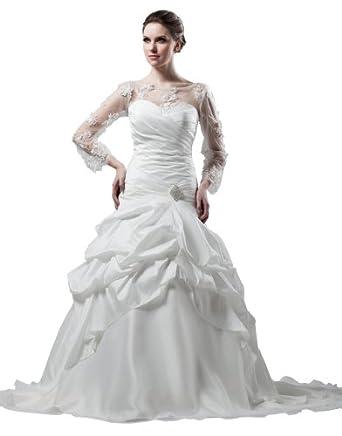 Herafa Wedding Dress Elegant NOw35921 Amazoncouk Clothing