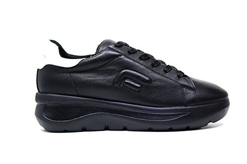 Fornarina PIFVH9545WVA0001 Sneakers Donna Pelle Nero Nero 36
