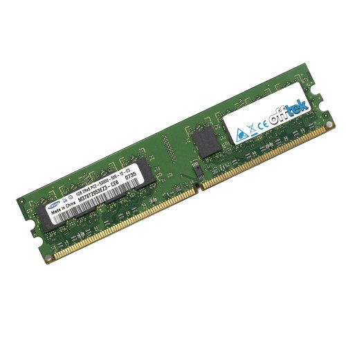 2GB RAM Memory for Gigabyte Barebone PC ME-B01 (DDR2-4200 - Non-ECC) - Desktop Memory Upgrade