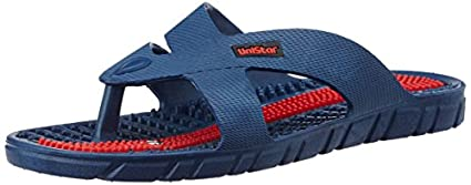 Unistar-GH-03-Unisex-Acupressure-Slippers-Size-9-(Blue)