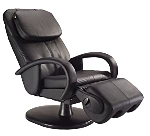 Human Touch HT-125 Robotic Massage Chair, Black Leather