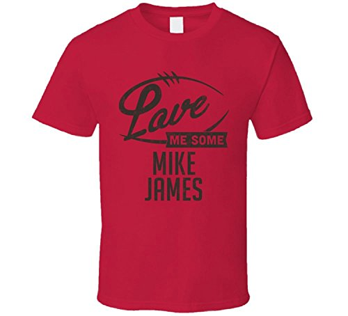 Love Me Some Mike James Tampa Bay Football Sports Athlete T Shirt