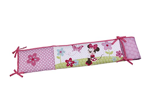 Disney Traditional Padded Bumper, Minnie's Garden