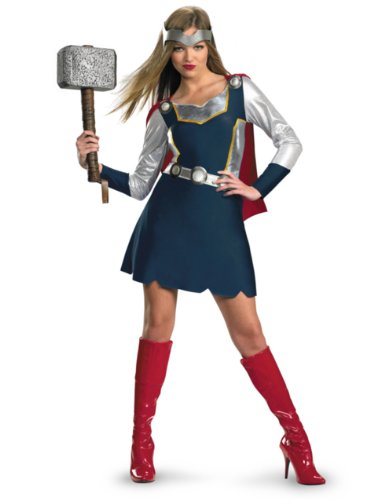Disguise Women's Marvel Thor Girl Classic Costume