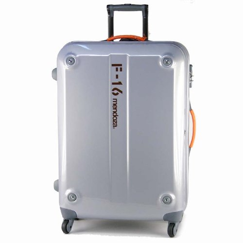 メンドーザ(mendoza)F-16シリーズ スーツケース 80L プラチナ54-29016-pm