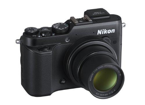 Nikon-Coolpix-P7800-Fotocamera-Compatta-Digitale-122-Megapixel-Zoom-71X-3200-Hi1-Display-ad-Angolazione-Variabile-LCD-RGBW-da-3-Pollici-Nero-Nital-card-4-anni-di-garanzia