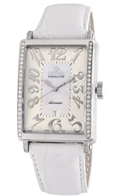 Gevril Women's 6209NE Glamour Automatic White Diamond Watch